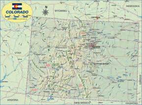 united states map denver colorado map of colorado united states usa map in the atlas of