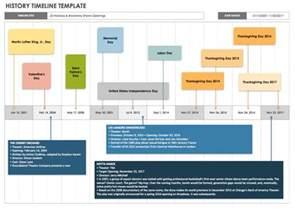 History Timeline Template Free by Free Blank Timeline Templates Smartsheet