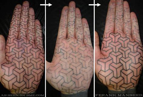 knuckle tattoo healing palm tattoo healing bme tattoo piercing and body