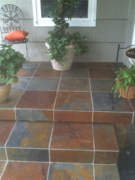 front porch tile flooring ideas