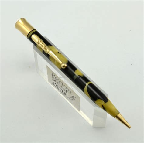 nice pencils sheaffer flat top mechanical pencil 1930s black and