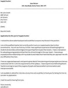 cover letter for a supply icover org uk