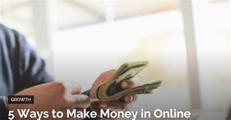Making Money Online Business - 5 ways to make money in online business aspire 2 retire
