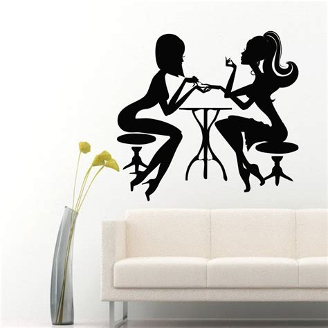 salon wall murals nail salon sticker decal muurstickers posters vinyl