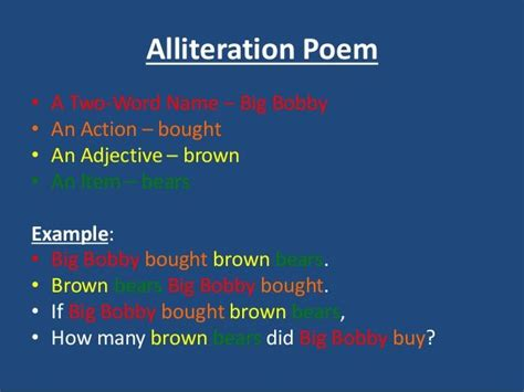 alliteration poem template 1000 images about 2nd grade poetry on poetry