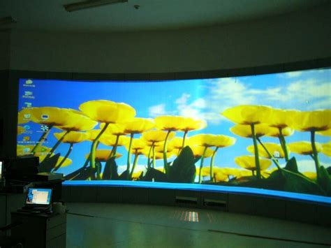 rollable black rear projection screen yhjn hiwodtouch