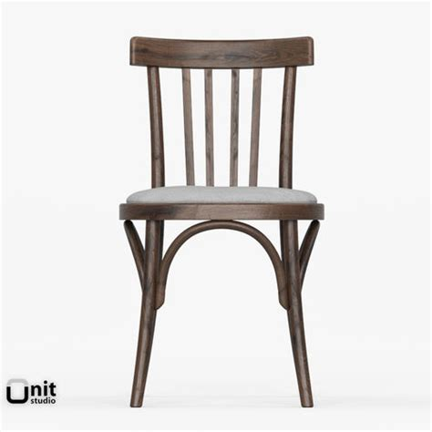 berlin bistro side chair berlin bistro chair by restoration harware 3d model max