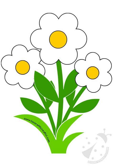 sagome di fiori sagome primavera sagome di fiori per decorazioni