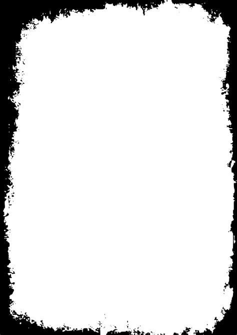 OnlineLabels Clip Art - Grungy Frame