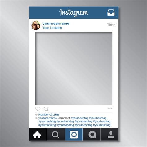 instagram frame template instagram photos frame printing dublin promotions