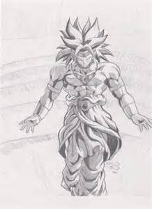 broly sketch by joanmm