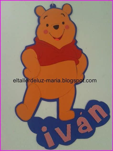 imagenes de winnie pooh para el facebook el taller de luz maria cartel para dormitorio en goma eva