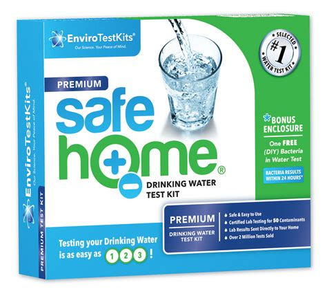 safe home 174 quot premium quot water test kit enviro test kits