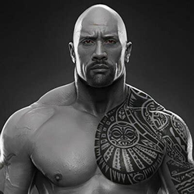 the rock dwayne johnson tattoo design 10 hottest professional athletes tattoos custom tattoo