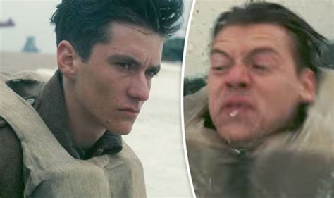letest cating stayl dunkirk new trailer fionn whitehead and harry styles in