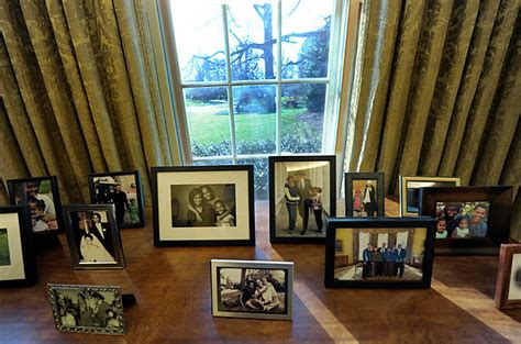oval office clock obama s personal touches to the oval office photo essays