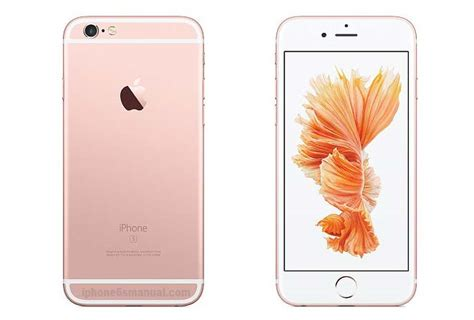 iphone 6s manual user guide and