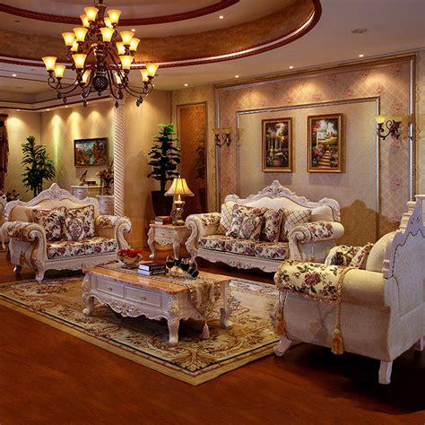 luxury furniture fabric sofa living room furniture set
