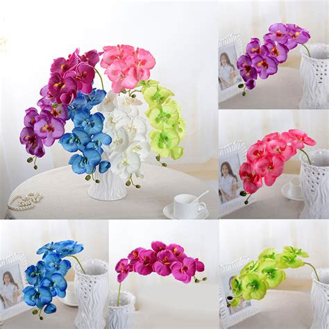 butterfly home decor butterfly orchid phalaenopsis silk flower home wedding
