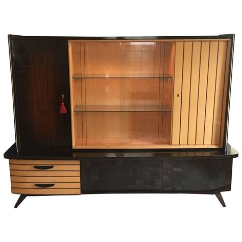 1950 S Mid Century Modern German Shrunk Cabinet At 1stdibs German Modern Furniture