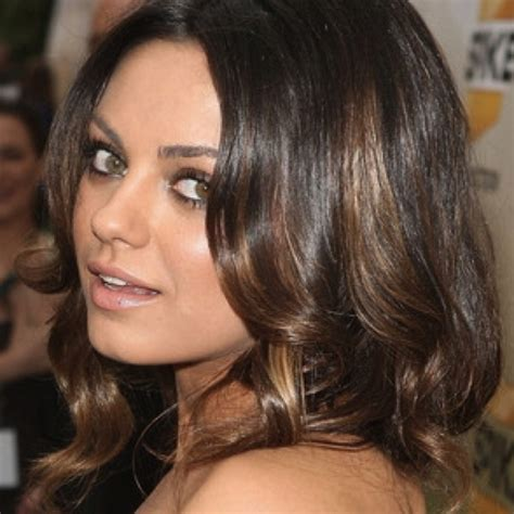 brunette hairstyles with copper highlights copper highlights for warm brunettes color pinterest