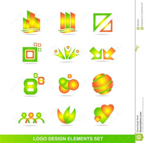 design elements icon logo design elements icon set stock vector illustration