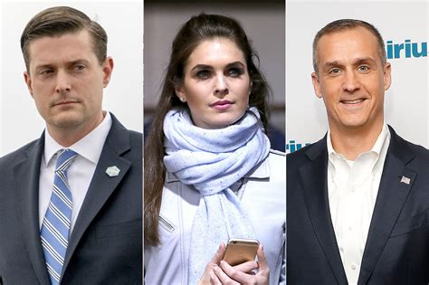 hope hicks lewandowski inside hope hicks romances with trump aides rob porter