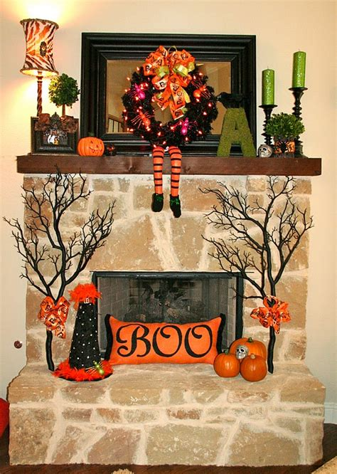 great ideas 20 festive fall mantels tatertots and