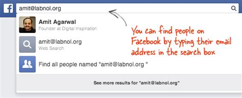 Search Email Address For Social Networks How To Find The Person An Email Address