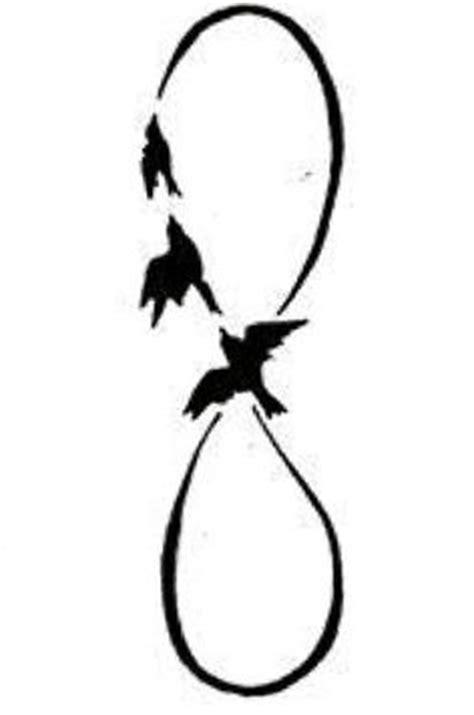 Infinity Symbol Tattoo With Birds | Tattoos