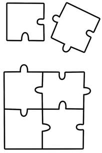 puzzle coloring sheets jigsaw puzzle coloring page toys