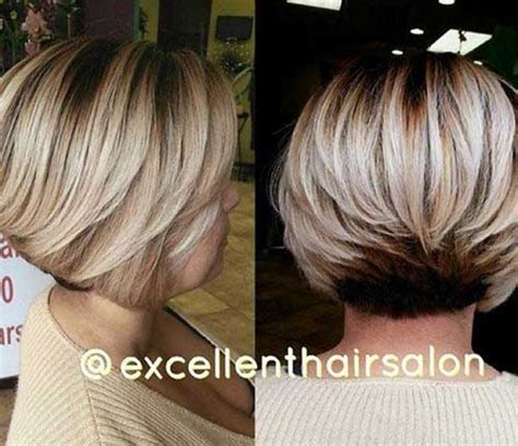 layered inverted bobs for thick hair reverse layered short bob haircut haircuts models ideas