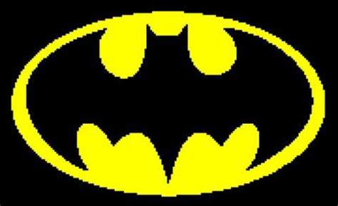 knitting pattern batman logo batman symbol tunisian simple stitch crochet afghan graph