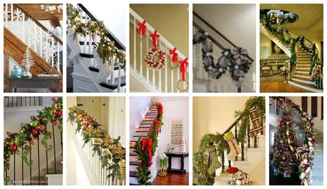 magical christmas staircase decorations that you have to see