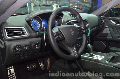 maserati inside 2016 2016 maserati ghibli interior at the iaa 2015 indian