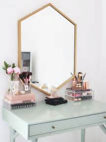 Makeup Vanity Gold My Makeup Collection Kate La Vie Bloglovin