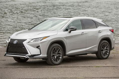 lexus rx 2016 lexus rx 450h f sport market value what s my car worth