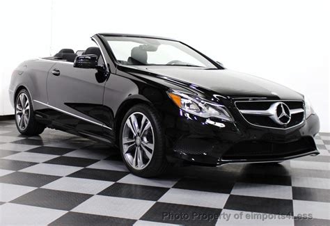 used mercedes convertible 2014 used mercedes benz e class certified e350 sport