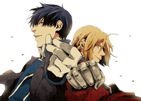 edward elric and roy mustang edward elric fan art