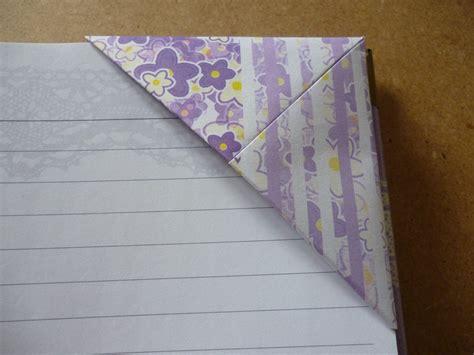 Corner Bookmark Origami - origami corner bookmarks atelier ilyere