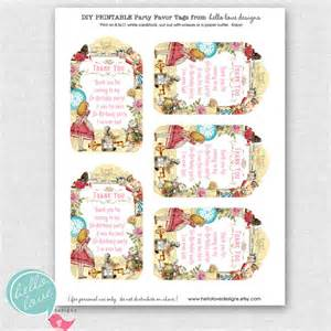 instant download alice in wonderland printable by