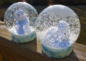 diy snow globes lagomorphflix s