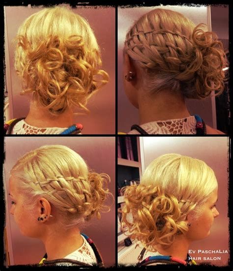 Hairstyles Basket With Curls | basket weave braid on a curly updo hair updos for brides