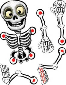 skeleton template to cut out origami n stuff 4 skeleton