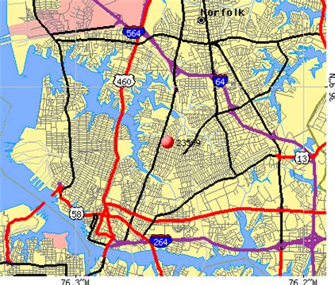 zip code map norfolk va 23509 zip code norfolk virginia profile homes