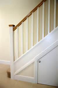 Oak Stair Banister Softwood Stairs With Oak Handrail Caps Stairway To