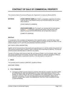 sale agreement template south africa contract of sale of commercial property template