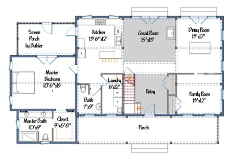 Single Story Farmhouse Plans by More Barn Home Plans From Yankee Barn Homes