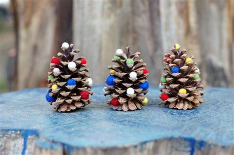pine cone crafts for christmas tutorialous 13 do it yourself pine cone craft ideas for you