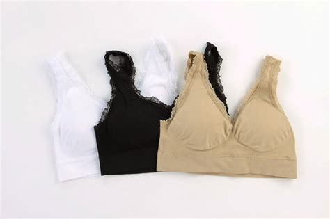 No Pads Genie Bra Yp set of 3 genie bra with lace lazada malaysia